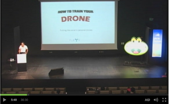 how to train your drone